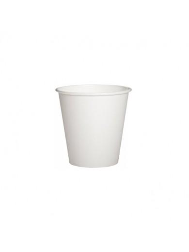 Стакан бумажный 110 мл, белый - 50 шт./уп.