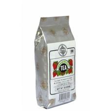 Черный чай Клубника Млесна пак. из фольги 100 г