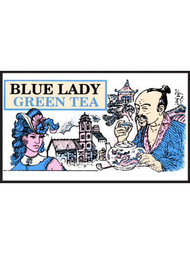 Зеленый чай Блю Леди Млесна пак. из фольги 500 г