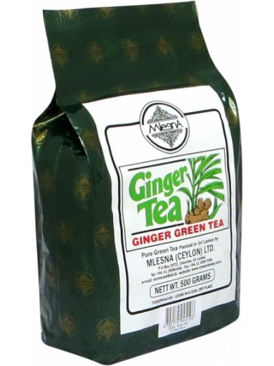 Зеленый чай Имбирь Млесна пак. из фольги 500 г