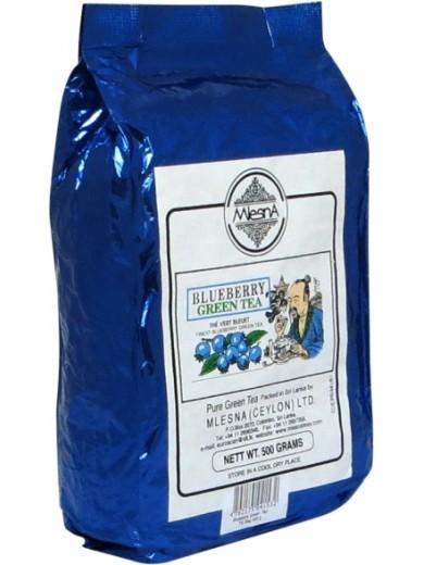 Зеленый чай Голубика Млесна пак. из фольги 500 г
