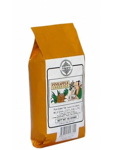 Зеленый чай Ананас Млесна пак. из фольги 100 г