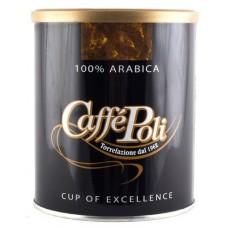Кофе Caffe Poli 100% Arabica молотый ж/б 250 г