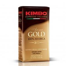 Кофе KIMBO AROMA GOLD 100% ARABICA в зернах 250 г