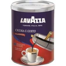 Кофе Lavazza Crema e Gusto молотый ж/б 250 г
