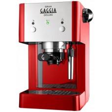 Кофеварка Gaggia Grangaggia De Luxe red
